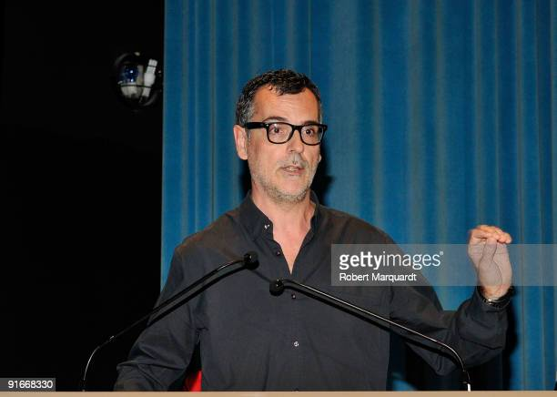Eduard Cortes attends the premiere of 'Ingrid' at the 42nd Sitges Film Festival on October 9 2009 in Barcelona Spain