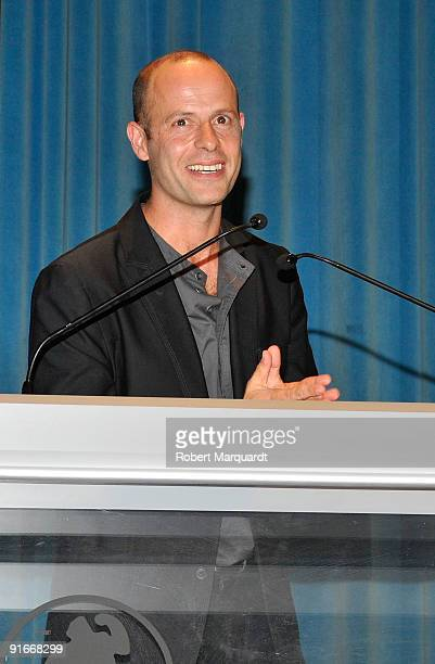 Eduard Farelo attends the premiere of 'Ingrid' at the 42nd Sitges Film Festival on October 9 2009 in Barcelona Spain