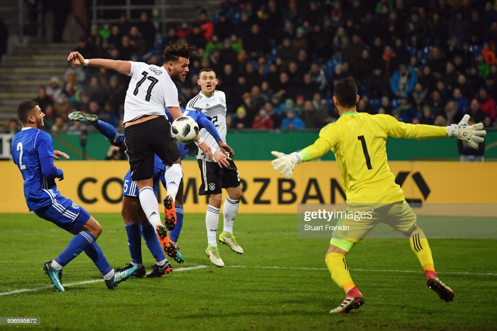 U21 Germany v U21 Israel - 2019 UEFA Under21 European Championship Qualifier