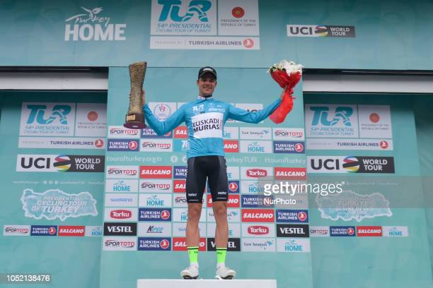 Eduard Prades Reverter of Spain and Euskadi Basque CountryMurias the Winner of the 54th Presidential Cycling Tour of Turkey 2018 On Sunday October 14...