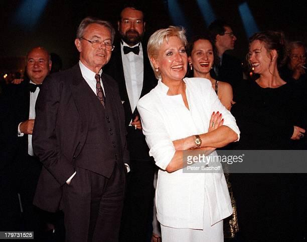 Eduard Zimmermann mit Tochter Sabine;Zimmermann, 75. Geburtstagsfeier von Horst;T A P P E R T;
