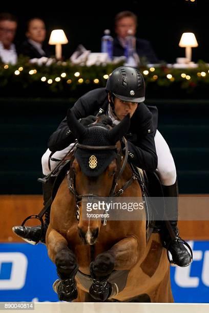 Eduardo Alvarez Aznar attends during CSI Casas Novas Horse Jumping Competition on December 10 2017 in A Coruna Spain