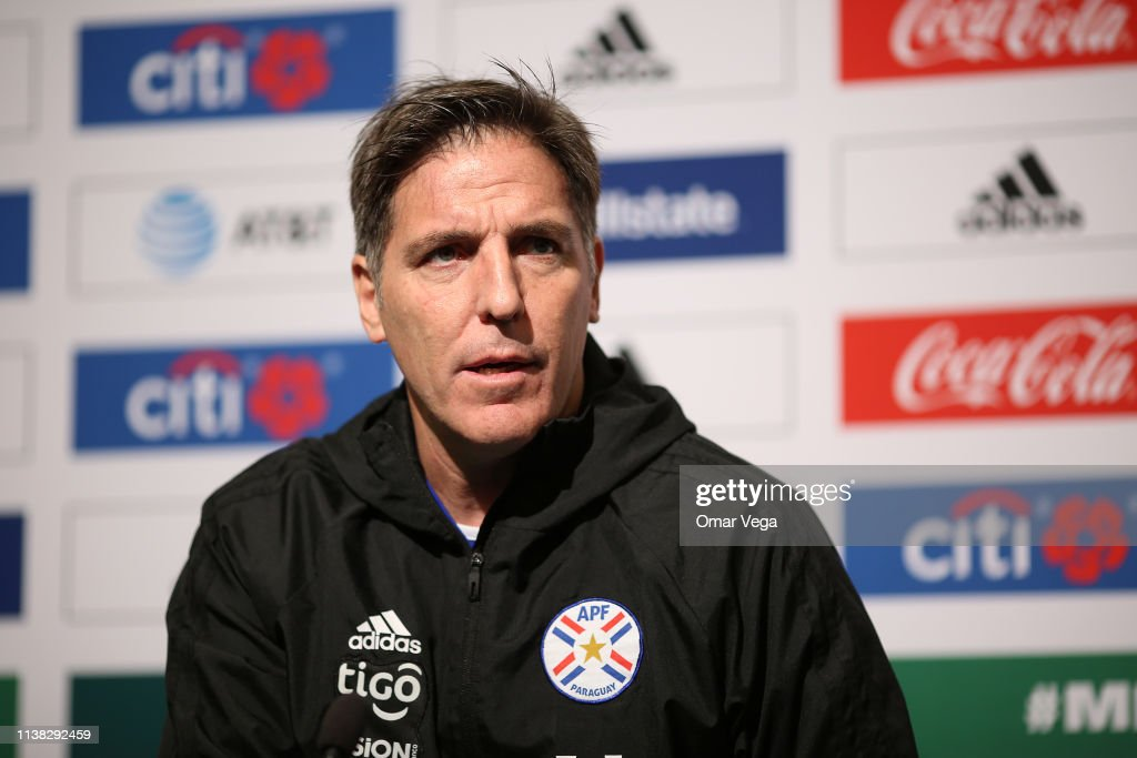 CA: Paraguay Training And Press Conference