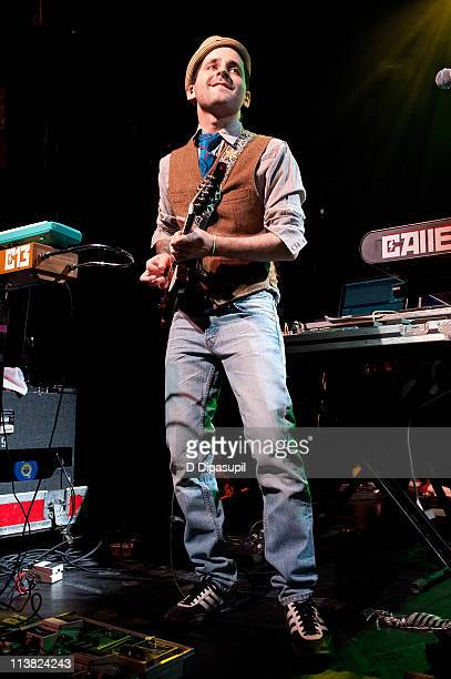 Eduardo Cabra Martinez aka Visitante of Calle 13 performs at Irving Plaza on May 6 2011 in New York City