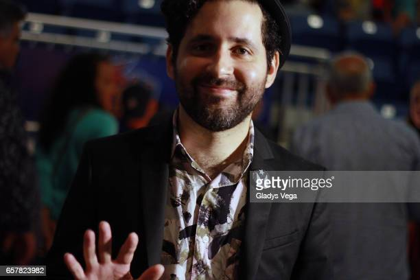 Eduardo Cabra of Calle 13 attends the Silvio Rodriguez concert at Coliseo Jose M Agrelot on March 25 2017 in San Juan Puerto Rico