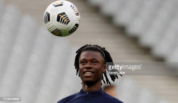 Eduardo Camavinga of France reacts during the UEFA Nations League group stage match between France and Croatia at Stade de France on September 8 2020...