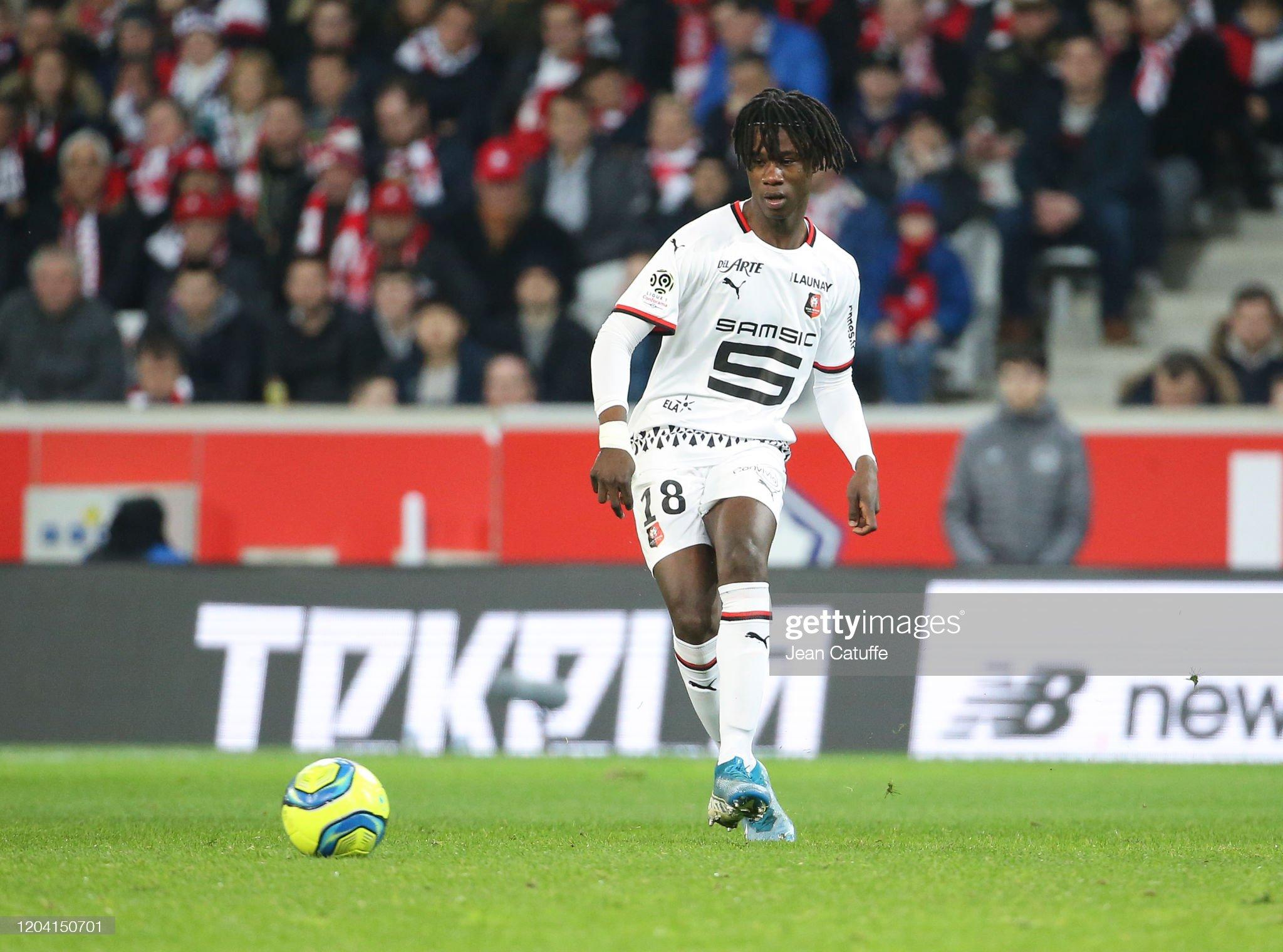 Lille OSC v Stade Rennais - Ligue 1 : News Photo