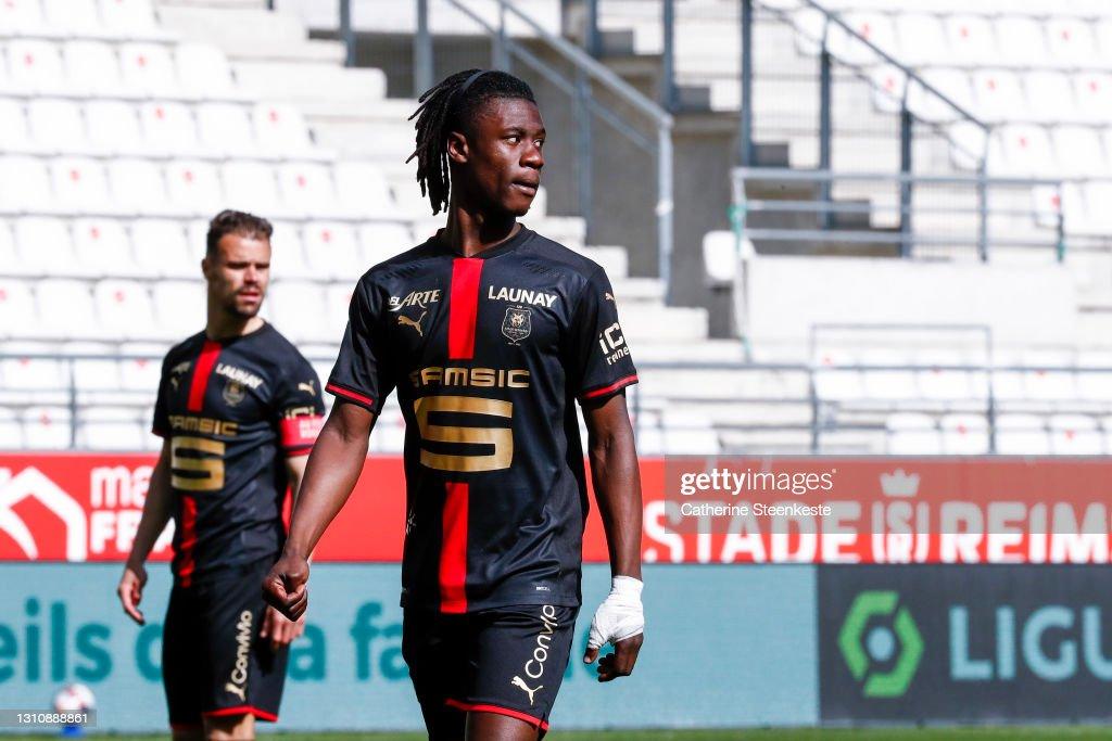 Stade de Reims v Stade Rennais - Ligue 1 : News Photo