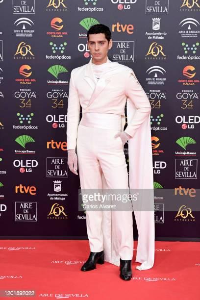 Eduardo Casanova attends the Goya Cinema Awards 2020 during the 34th edition of the Goya Cinema Awards at Jose Maria Martin Carpena Sports Palace on...