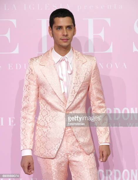 Eduardo Casanova attends the 'Pieles' premiere pink carpet at Capitol cinema on June 7 2017 in Madrid Spain