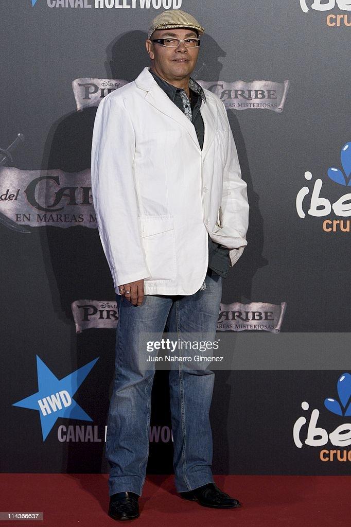 Eduardo Cruz (Father of Penelope) attends 'Pirates Of The Caribbean: On Stranger Tides' (Piratas del Caribe: en Mareas Misteriosas) premiere at Kinepolis Cinema on May 18, 2011 in Madrid, Spain.