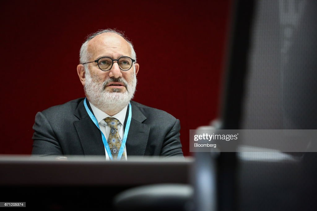 Eduardo Elsztain, founder and chief executive officer of Irsa Inversiones Y Representaciones SA, listens during an interview in New York, U.S., on Friday, April 21, 2017. Irsa Inversiones y Representaciones SA, Argentina's largest publicly traded real estate company, has a portfolio consisting of commercial buildings, shopping centers, office space, residential properties, and hotels. Photographer: Christopher Goodney/Bloomberg via Getty Images