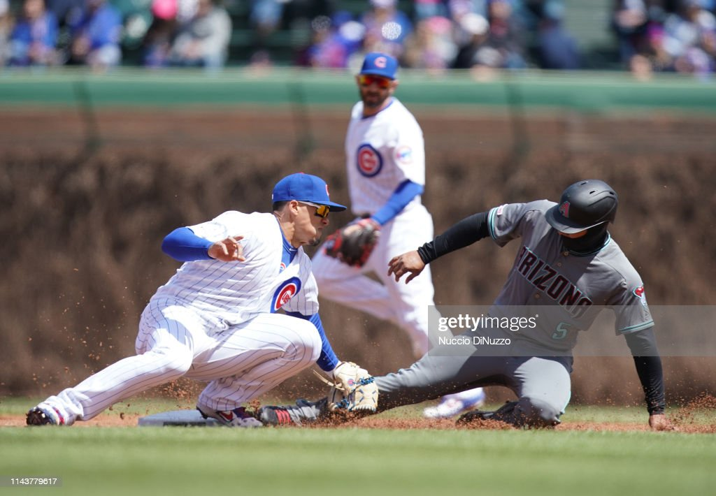 IL: Arizona Diamondbacks v Chicago Cubs