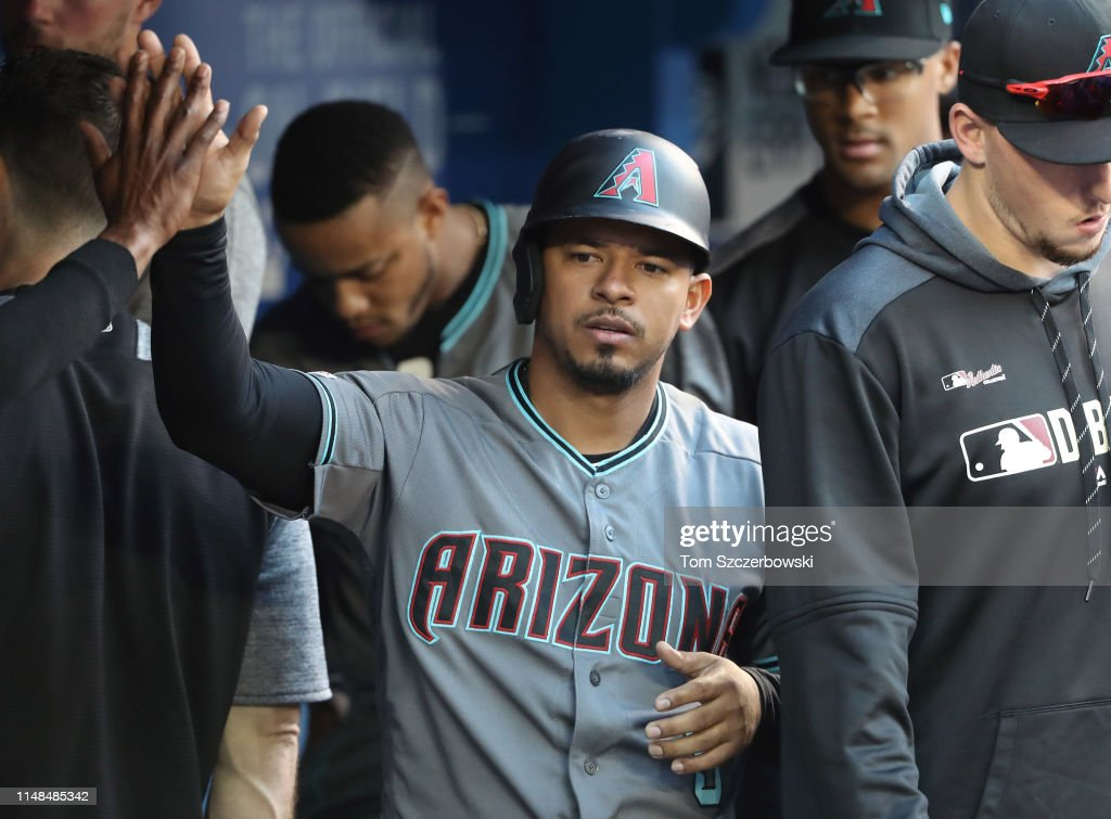 Arizona Diamondbacks v Toronto Blue Jays : Foto jornalística
