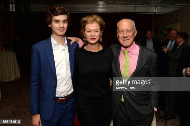 Eduardo Foster Lady Foster and architect Lord Norman Foster attend Surface celebrates the November power issue with Norman Foster on October 25 2017...