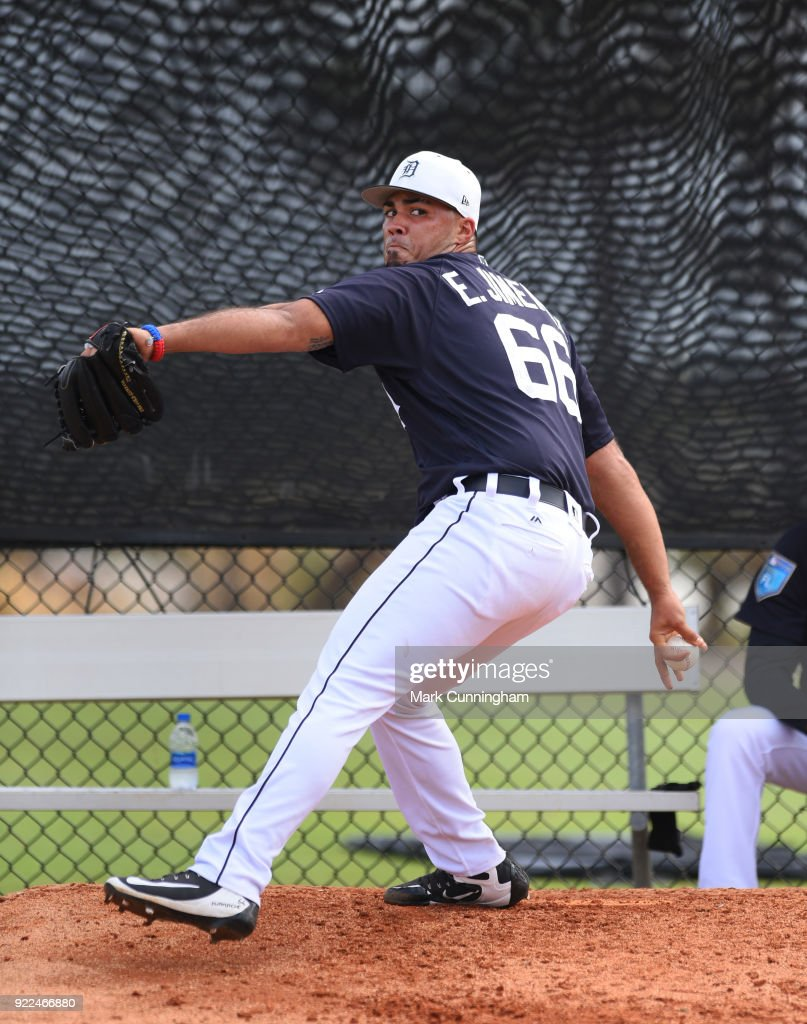 Detroit Tigers Workouts : ニュース写真