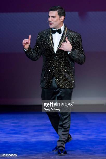 Eduardo Khawam attends the Metropolitan Fashion Week Closing Night Gala at Arcadia Performing Arts Center on October 5 2017 in Arcadia California