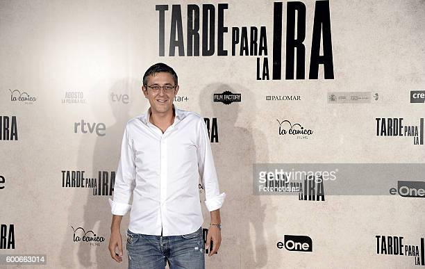 Eduardo Madina attends the 'Tarde Para la Ira' premiere at Capitol cinema on September 8 2016 in Madrid Spain