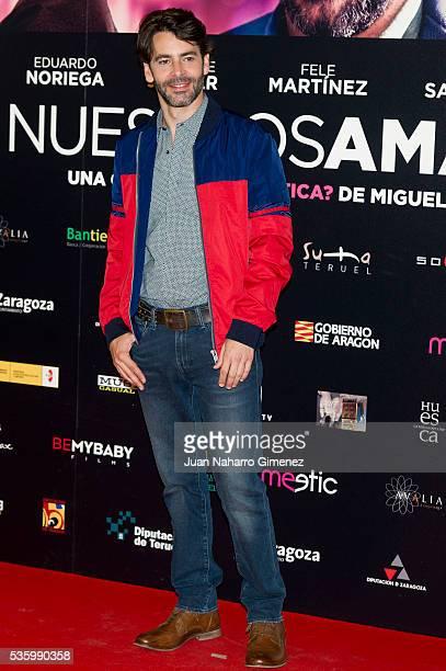 Eduardo Noriega attends 'Nuestros Amantes' photocall at Palafox Cinema on May 31 2016 in Madrid Spain