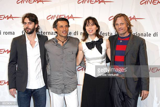 Eduardo Noriega Enrico Lo Verso Adriana Gil and Viggo Mortensen