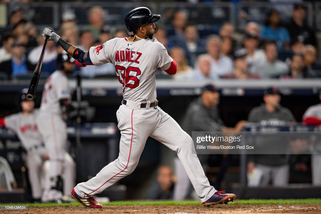 Divisional Round - Boston Red Sox v New York Yankees - Game Four (G) : News Photo