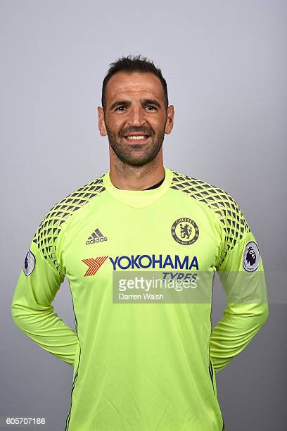 Eduardo of Chelsea during the Official Portrait session at Chelsea Training Ground on September 8 2016 in Cobham England