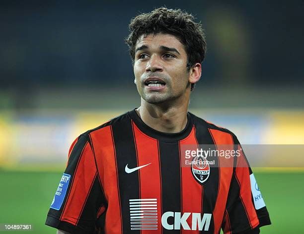 Eduardo of Shakhtar Donetsk in action during the Russian Premier League match between Metalist Kharkiv and Shakhtar Donetsk at the Metalist Stadium...