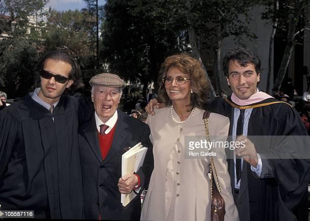 Eduardo Ponti Carlo Ponti Sophia Loren and Carlo Ponti Jr