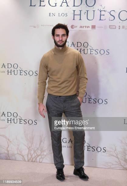 Eduardo Rosa attends the 'Legado en los huesos' photocall at Hotel Urso on November 25 2019 in Madrid Spain