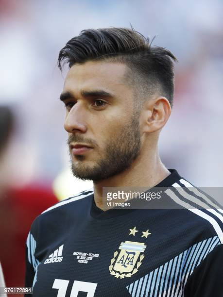 Eduardo Salvio of Argentina during the 2018 FIFA World Cup Russia group D match between Argentina and Iceland at the Spartak Stadium on June 16 2018...