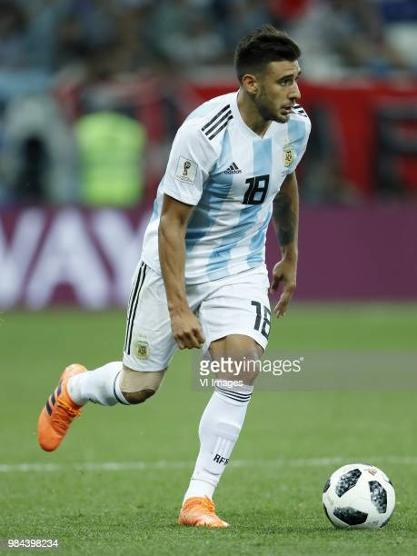 Eduardo Salvio of Argentina during the 2018 FIFA World Cup Russia group D match between Argentina and Croatia at the Novgorod stadium on June 21 2018...