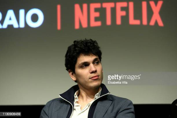 Eduardo Valdarnini attends a screening for Netflix Suburra The Series season 2 at Casa del Cinema on February 20 2019 in Rome Italy