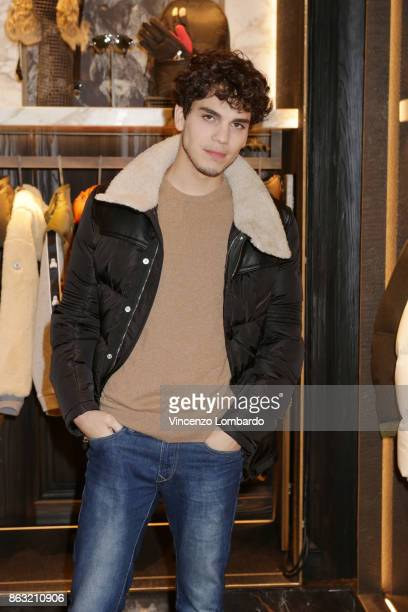 Eduardo Valdarnini attends the Moncler Flagship Store Opening Cocktail on October 19 2017 in Milan Italy