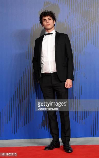 Eduardo Valdarnini attends the 'Suburra The Series' premiere during the 74th Venice Film Festival on September 2 2017 in Venice Italy