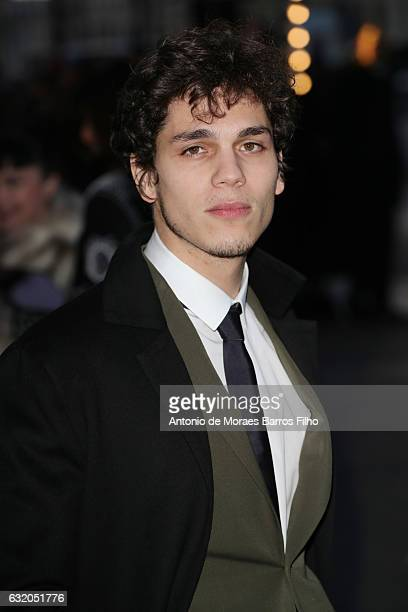 Eduardo Valdarnini attends the Valentino Menswear Fall/Winter 20172018 show as part of Paris Fashion Week on January 18 2017 in Paris France