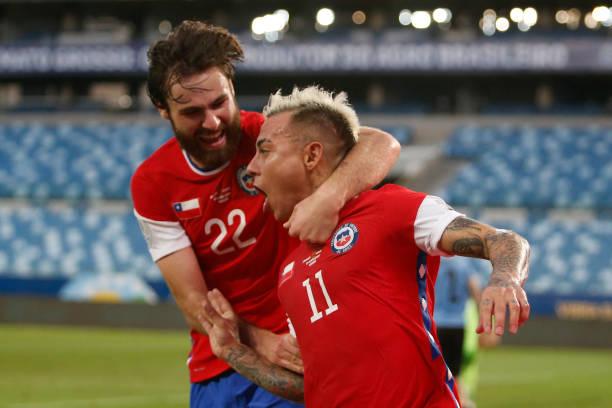 BRA: Uruguay v Chile: Group A - Copa America Brazil 2021