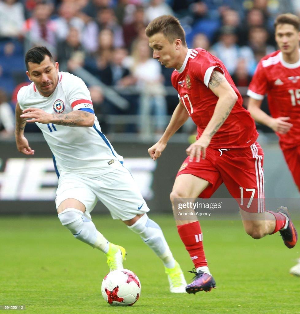 Russia vs Chile: Friendly Match : News Photo