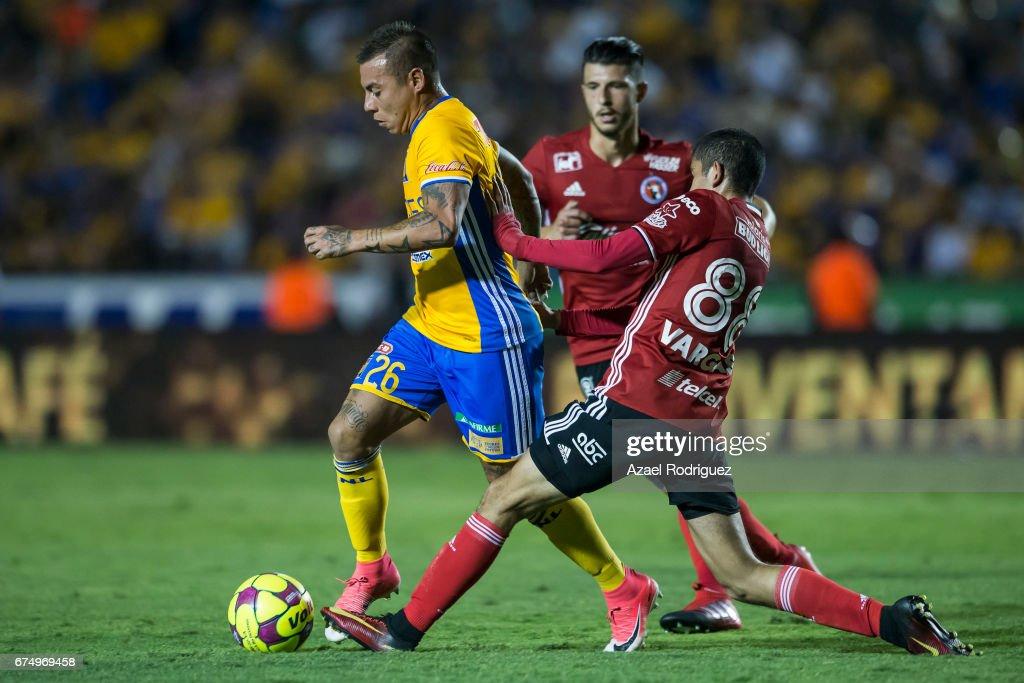 Tigres UANL v Tijuana - Torneo Clausura 2017 Liga MX : Nachrichtenfoto