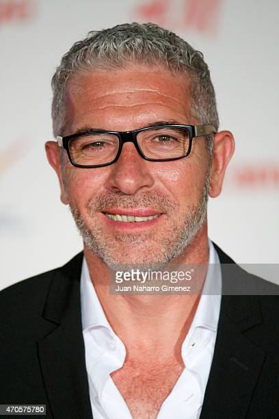 Eduardo Velasco attends the 'Requisitos Para Ser Una Persona Normal' premiere during the 18th Malaga Spanish Film Festival at Cervantes Theater on...