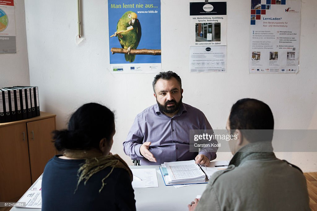 Education consultant for refugee people Ersoy Senguel