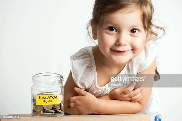 Education Fund in Jar