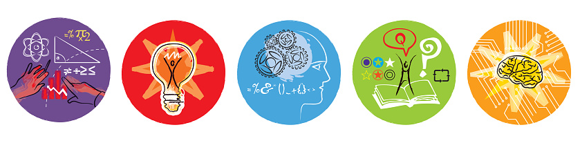 Education graphic icons - gettyimageskorea