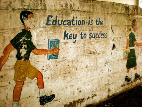 Education is the Key to Success 155737895