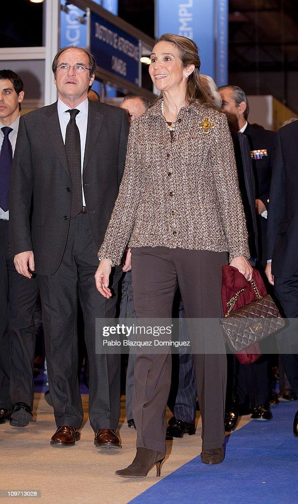 Princess Elena of Spain Inaugurates 'Aula 2011' : News Photo