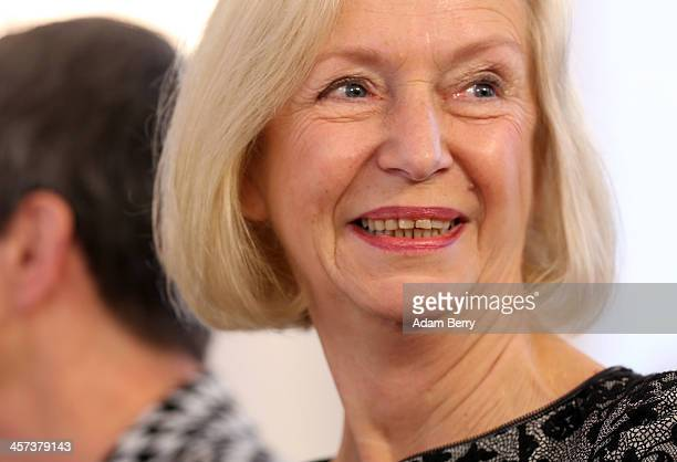 Education Minister Johanna Wanka attends a ceremony in which German President Joachim Gauck appointed the new German government cabinet on December...
