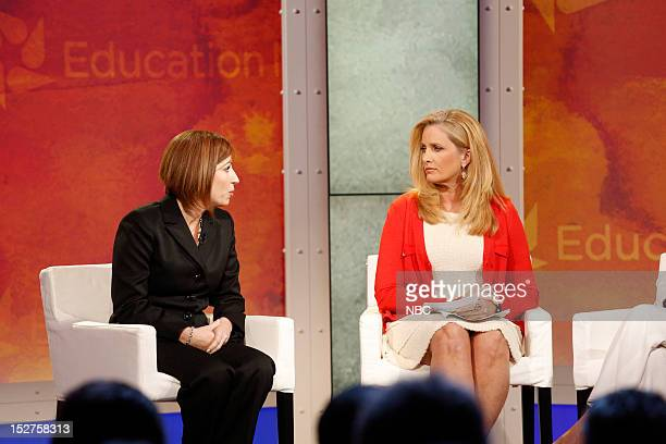 New York Summit Day 3 Pictured Virginia Castro and Alex Witt at NBC News' Education Nation Summit at the New York Public Library in New York on...