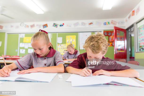 Education of Primary School Students Answering Questions in Class