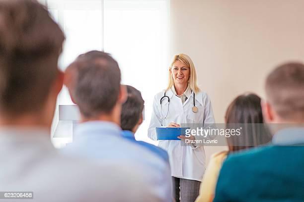 Education on pharmaceutical seminar