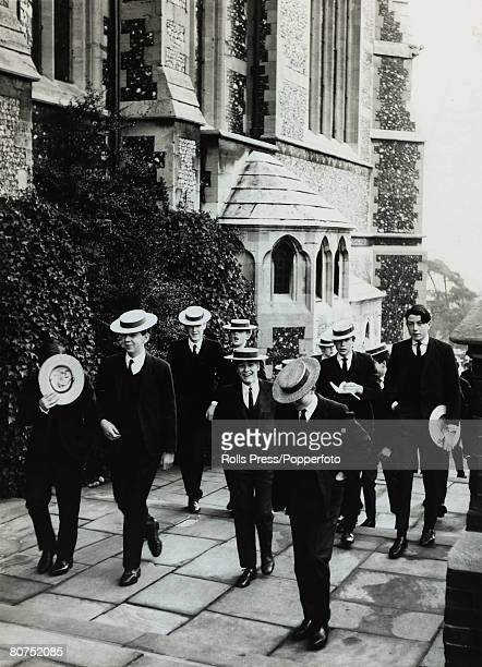 1965 Scholars from HarrowSchool Harrow Middlesex a public school for the rich and privileged
