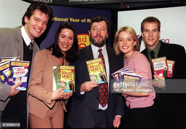 Education Secretary David Blunkett launches the 'National Year of Reading' with the help of stars from the Channel 4 soaps Brookside and Hollyoaks at...